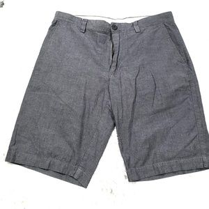 J.Crew Chambray Mens Chino Shorts Size 34